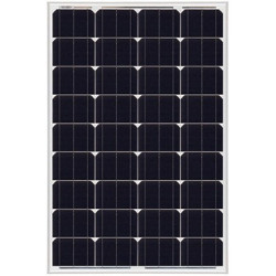 Pannello Solare Monocristallino 100W 12V Slim serie NX
