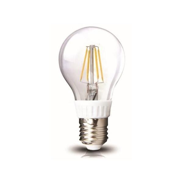 Lampadina Led a Filamento COB a Bulbo Vetro 4W 230V 3000K E27