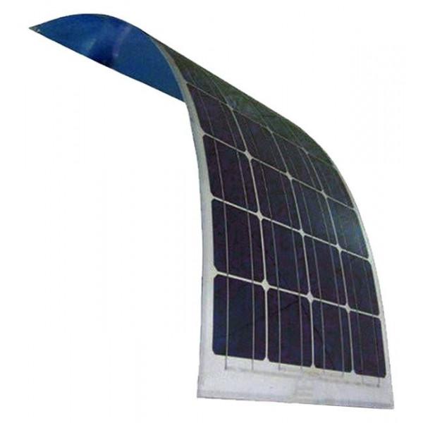 Pannello Solare Fotovoltaico Semiflessibile 100W 12V Mono