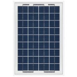 Pannello Solare Fotovoltaico Policristallino 10W 12V