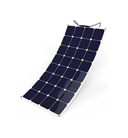 Pannello Solare Monocristallino 100W 12V serie NX celle Sunpower ad alta efficienza grado A rivestito in ETFE