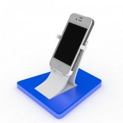 Porta telefono con base rettangolare