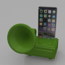 Amplificatore Audio Smartphone Grammofono
