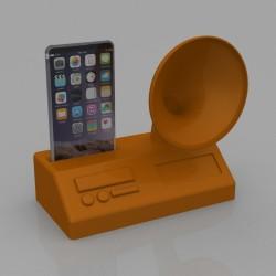 Amplificatore Audio Smartphone Grammofono 2