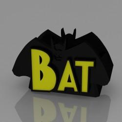 Portapenne - Bat