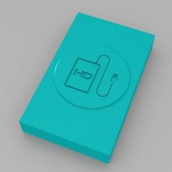 Custodia USB HD