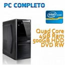 COMPUTER DESKTOP INTEL QUAD CORE/4GB/500GB
