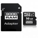 MICRO SD UHS GOODRAM 16GB CLASSE 10 + ADATTATORE SD