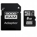 MICRO SD UHS GOODRAM 8GB CLASSE 10 + ADATTATORE SD