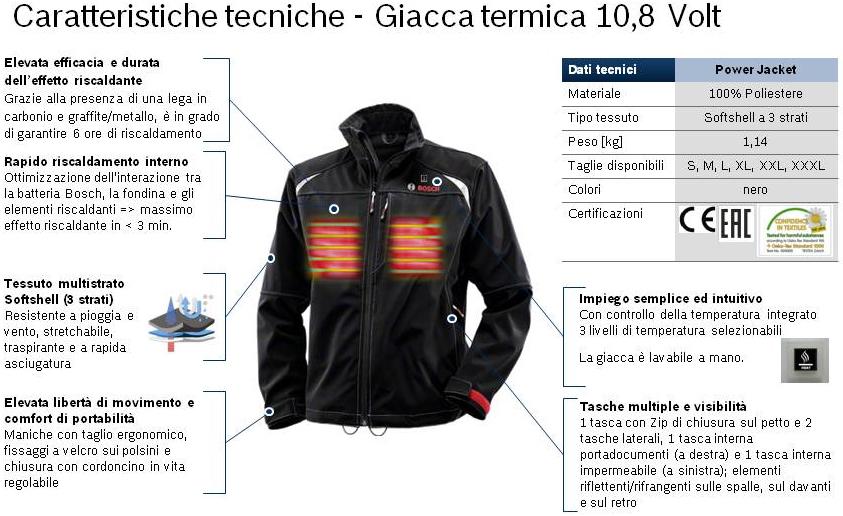 10 Geobios Giacca 8v Consulting Termica Heat Professional wXqwxptSn0