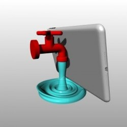 Stand Tablet - Rubinetto